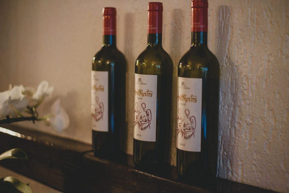Leckerer Wein bei Agapi - Restaurant Leverkusen