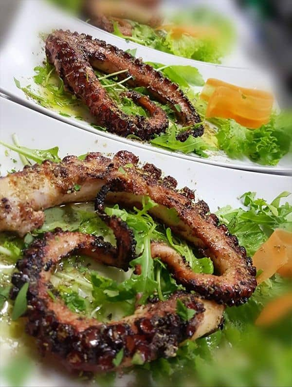 Hier wirst Du garantiert satt - Leckere Meeresfrüchte bei Agapi. Griechisches Restaurant Leverkusen Opladen